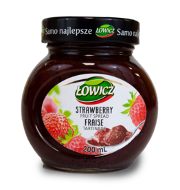 Lowicz Strawberry Jam 200ml
