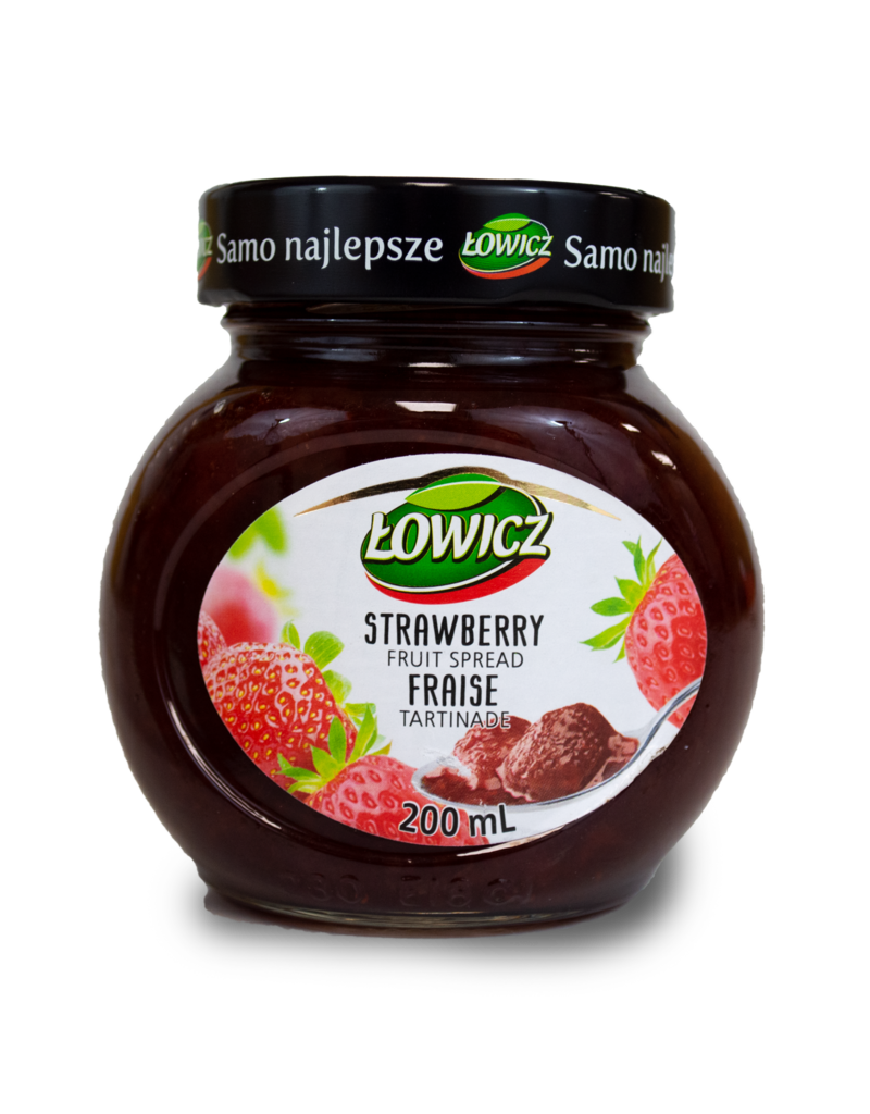 Lowicz Lowicz Strawberry Jam 200ml