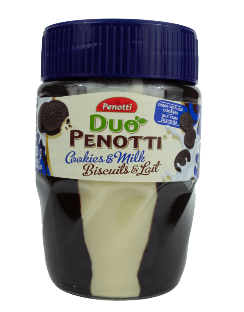 Penotti Penotti Duo Cookies and Milk Spread 350g