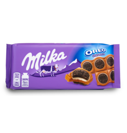 Milka Oreo Sandwich Chocolate Bar 95g