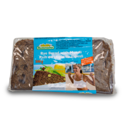 Mestemacher Rye Bread with Muesli 500g