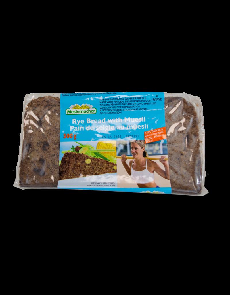 Mestemacher Mestemacher Rye Bread with Muesli 500g