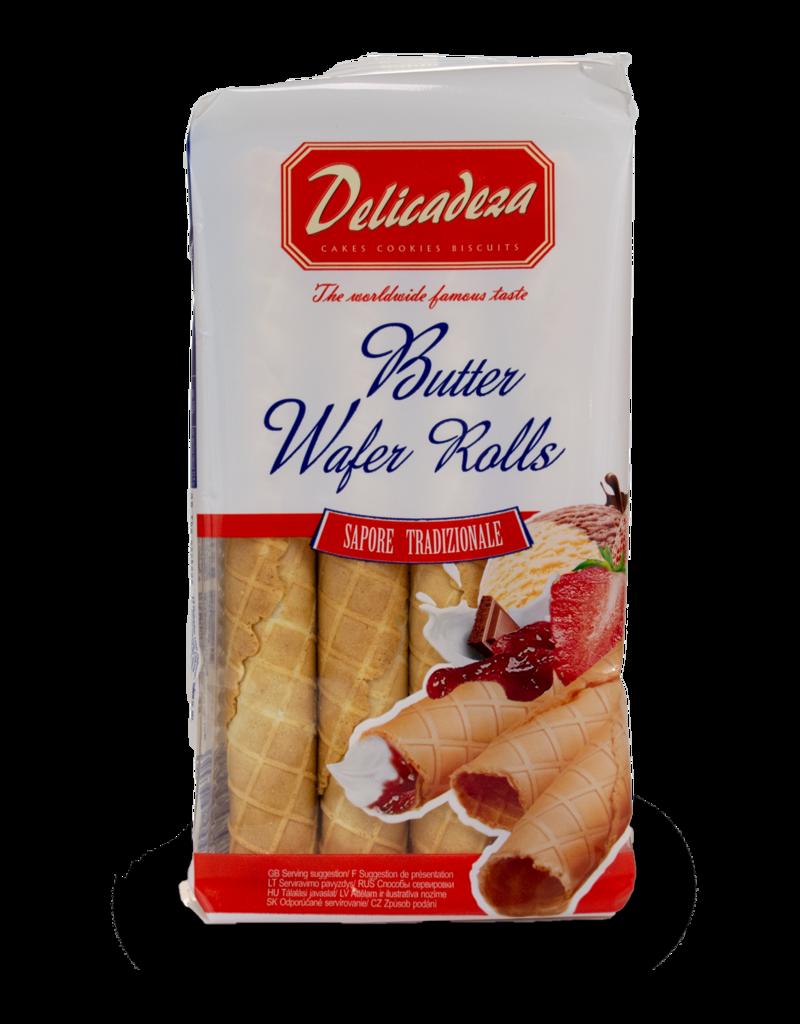 Delicadeza Delicadeza Butter Wafer Rolls 100g
