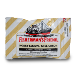 Fisherman's Friend Honey Lemon Sugar Free 22pcs