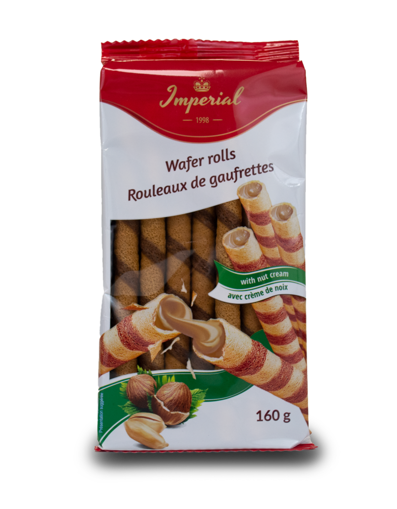 Imperial Imperial Wafer Rolls with Hazelnut 160g