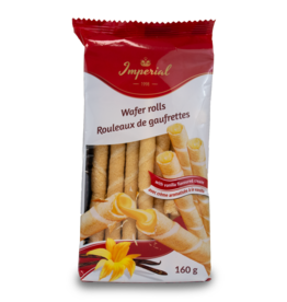 Imperial Wafer Rolls with Vanilla 160g