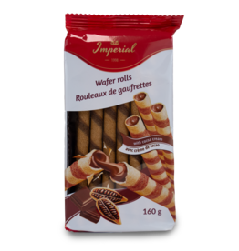 Imperial Wafer Rolls with Cocoa 160g