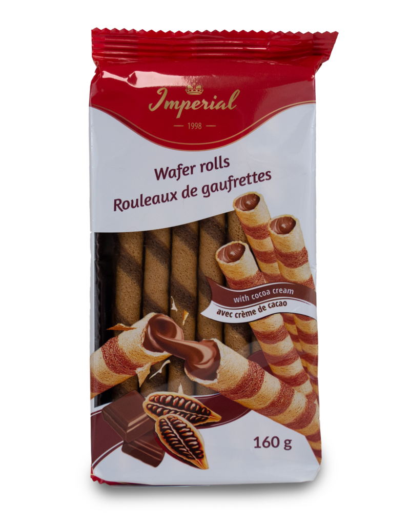 Imperial Imperial Wafer Rolls with Cocoa 160g