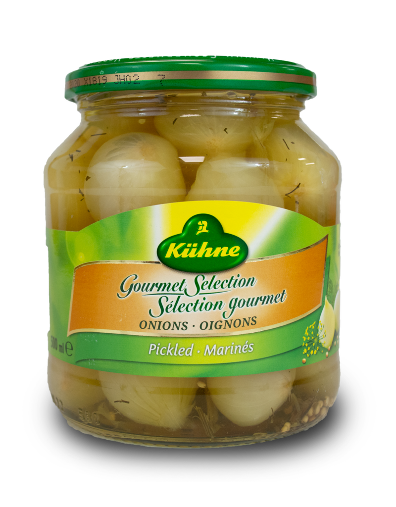 Kuhne Kuhne Gourmet Selection Pickled Onions 500ml