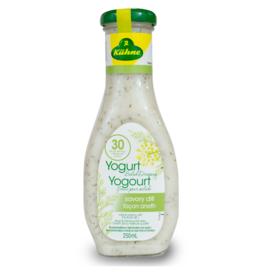 Kuhne Yogurt and Dill Salad Dressing 250ml