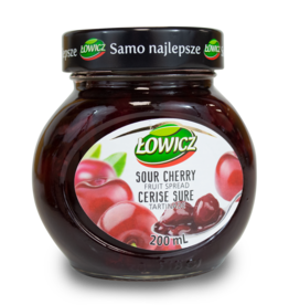 Lowicz Sour Cherry Jam 200ml