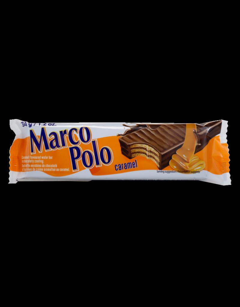 Marco Polo Marco Polo Caramel Wafer Bar 34g