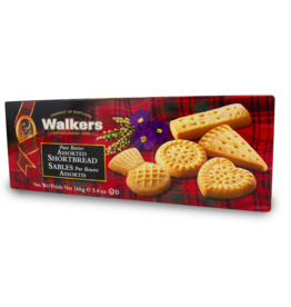 Walkers Gluten Free Assorted Shortbread 160g