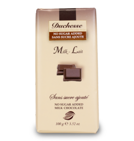 Duchesse Sugar Free Milk Chocolate 100g