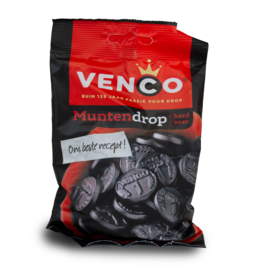 Venco Coin Licorice 168g