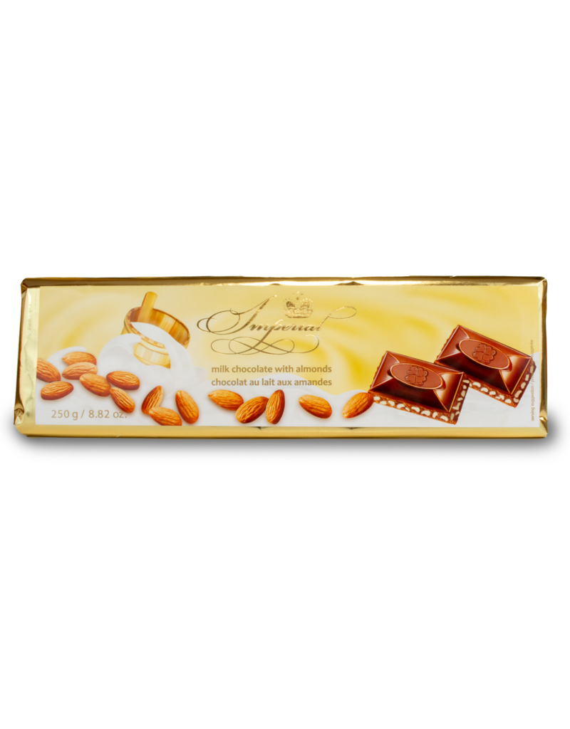 Imperial Imperial Almond Chocolate Bar 250g