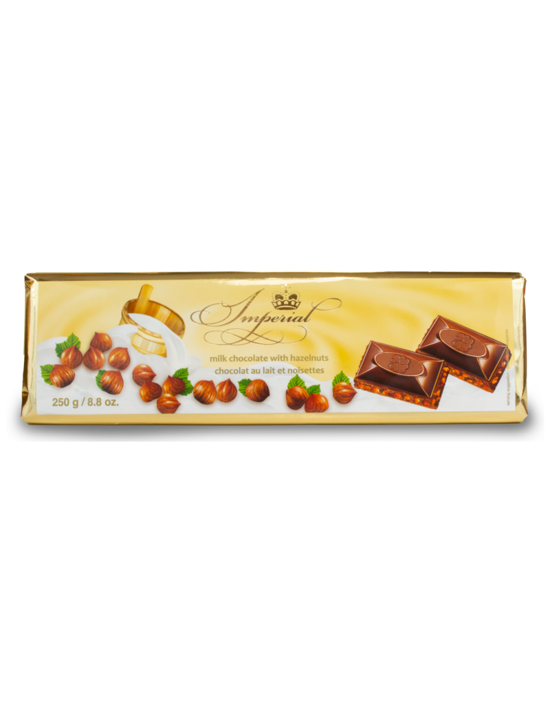 Imperial Imperial Hazelnut Chocolate Bar 250g