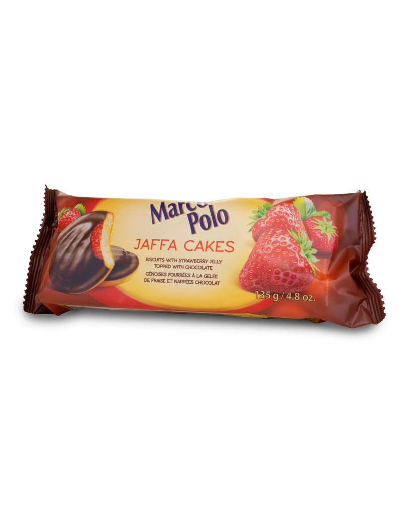 Marco Polo Marco Polo Jaffa Cakes - Strawberry 135g