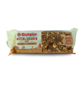 Bolletje Noten and Granen Reep Amandel 40g