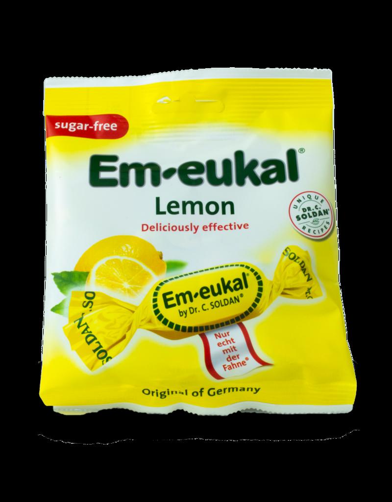 Em-Eukal Em-Eukal Lemon Sugar Free 50g