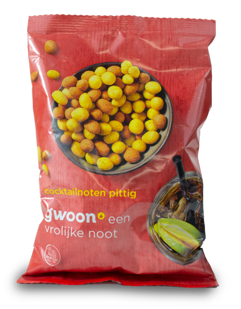 Gwoon Gwoon Cocktail Nuts - Spicy 300g