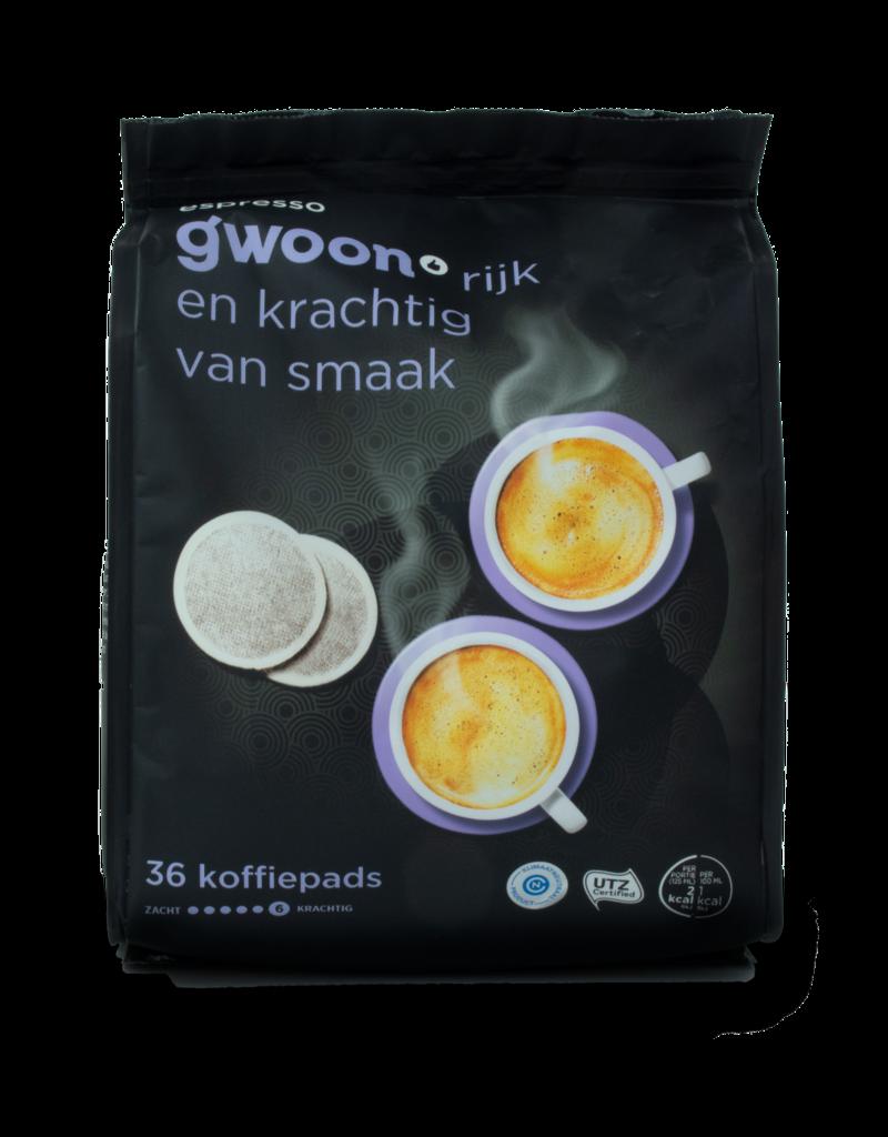 Gwoon Gwoon Espresso Coffee Pods 36pk