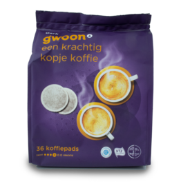 Gwoon Dark Coffee Pods 36 Pack
