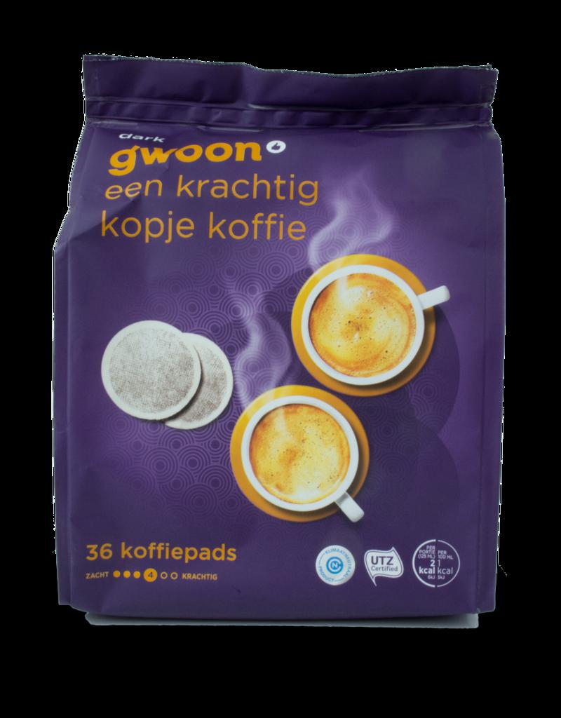 Gwoon Gwoon Dark Coffee Pods 36 Pack