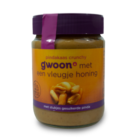 Gwoon Peanut Butter - Crunchy with Honey 350g