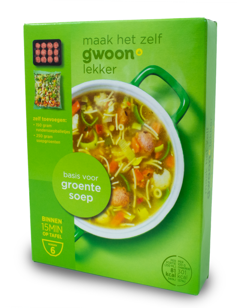 Gwoon Gwoon Soup Mix - Vegetable 70g