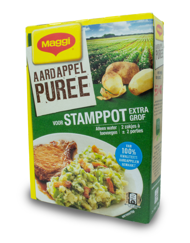 Maggi Maggi Aardappel Puree Mashed Potato Mix for Stamppot