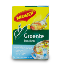 Maggi Vegetable Bouillon Low Salt 72g