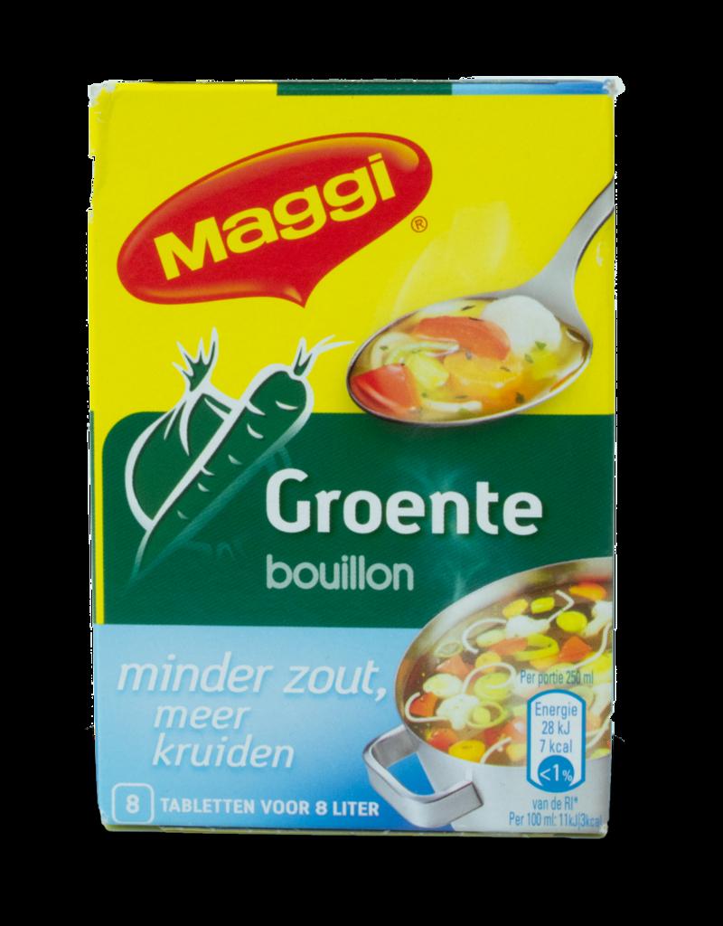 Maggi Maggi Vegetable Bouillon Low Salt 72g