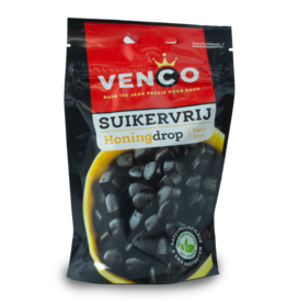 Venco Sugar Free Honey Drop 100g