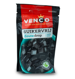Venco Zoute Drop Sugar Free 100g