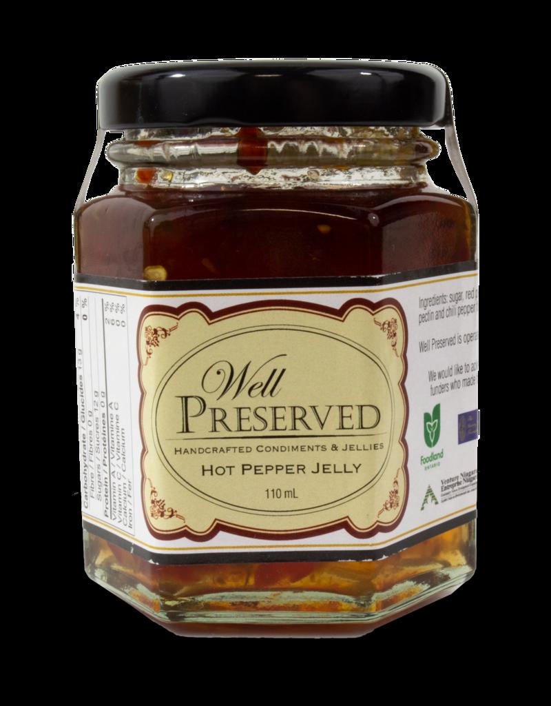 Community Living Well Preserved - Hot Pepper Jelly 110ml