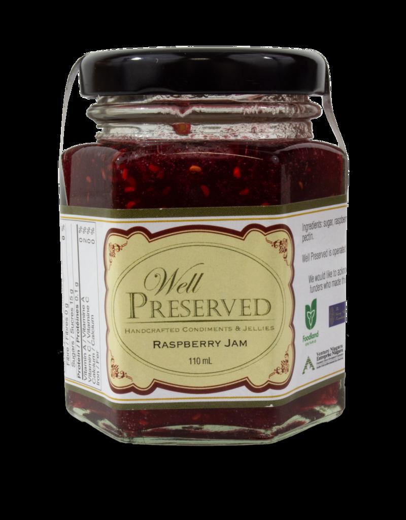 Well Preserved Well Preserved Jam - Raspberry 110ml