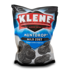 Klene Muntdrop Coin Licorice 260g