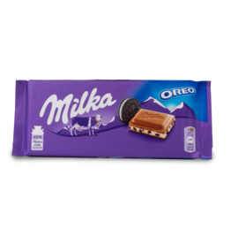 Milka Oreo Cream Chocolate Bar 100g
