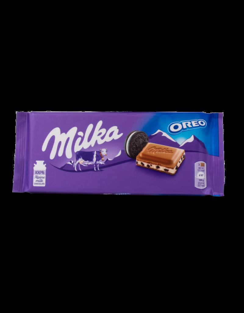 Milka Milka Oreo™ Cream Chocolate Bar 100g