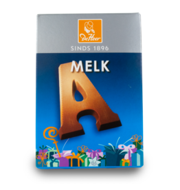 DeHeer Chocolate Letter 65g Milk A