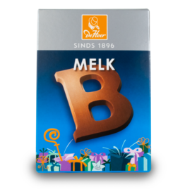 DeHeer Chocolate Letter 65g Milk B