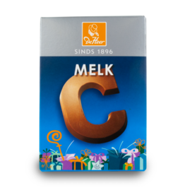 DeHeer Chocolate Letter 65g Milk C