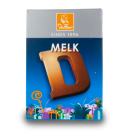 DeHeer Chocolate Letter 65g Milk D