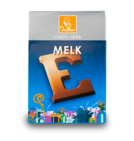 DeHeer Chocolate Letter 65g Milk E