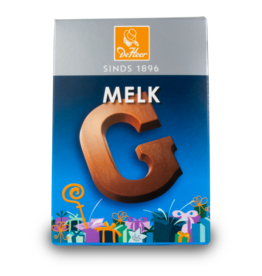 DeHeer Chocolate Letter 65g Milk G