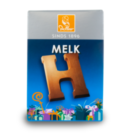 DeHeer Chocolate Letter 65g Milk H