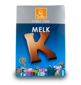 DeHeer Chocolate Letter 65g Milk K