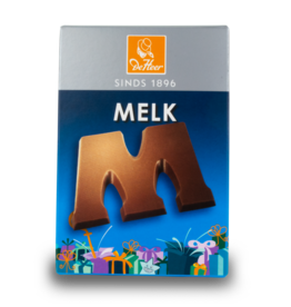 DeHeer Chocolate Letter 65g Milk M