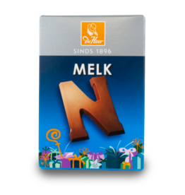 DeHeer Chocolate Letter 65g Milk N